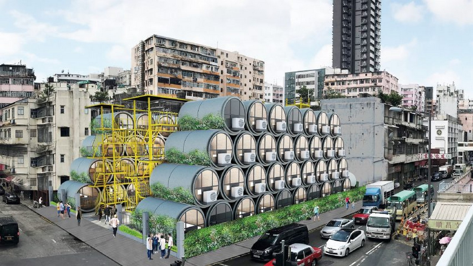 Where does architecture lie in the future of Hong Kong? - Sheet3