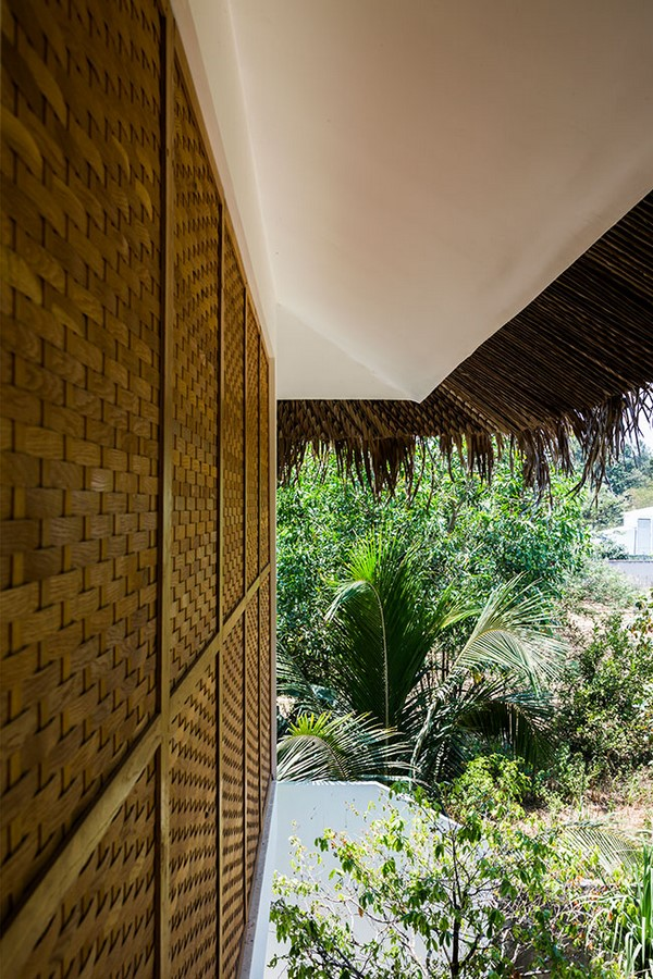 Tropical Holiday House with Woven Sliding Panels - Sheet4