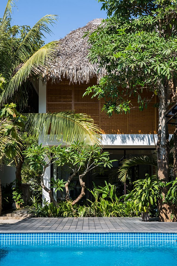 Tropical Holiday House with Woven Sliding Panels - Sheet6