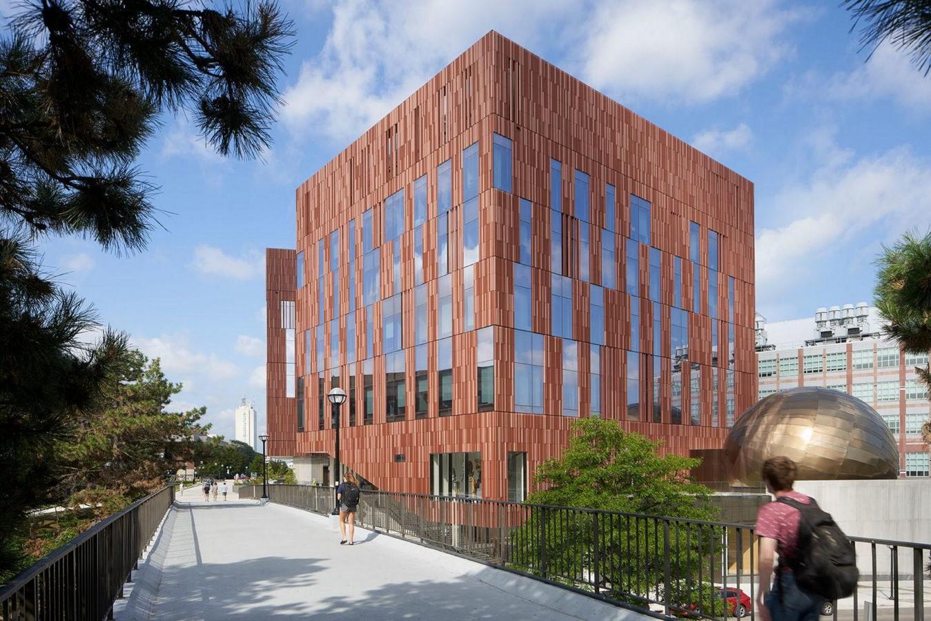 University of Michigan, Biological Sciences Building - Sheet1