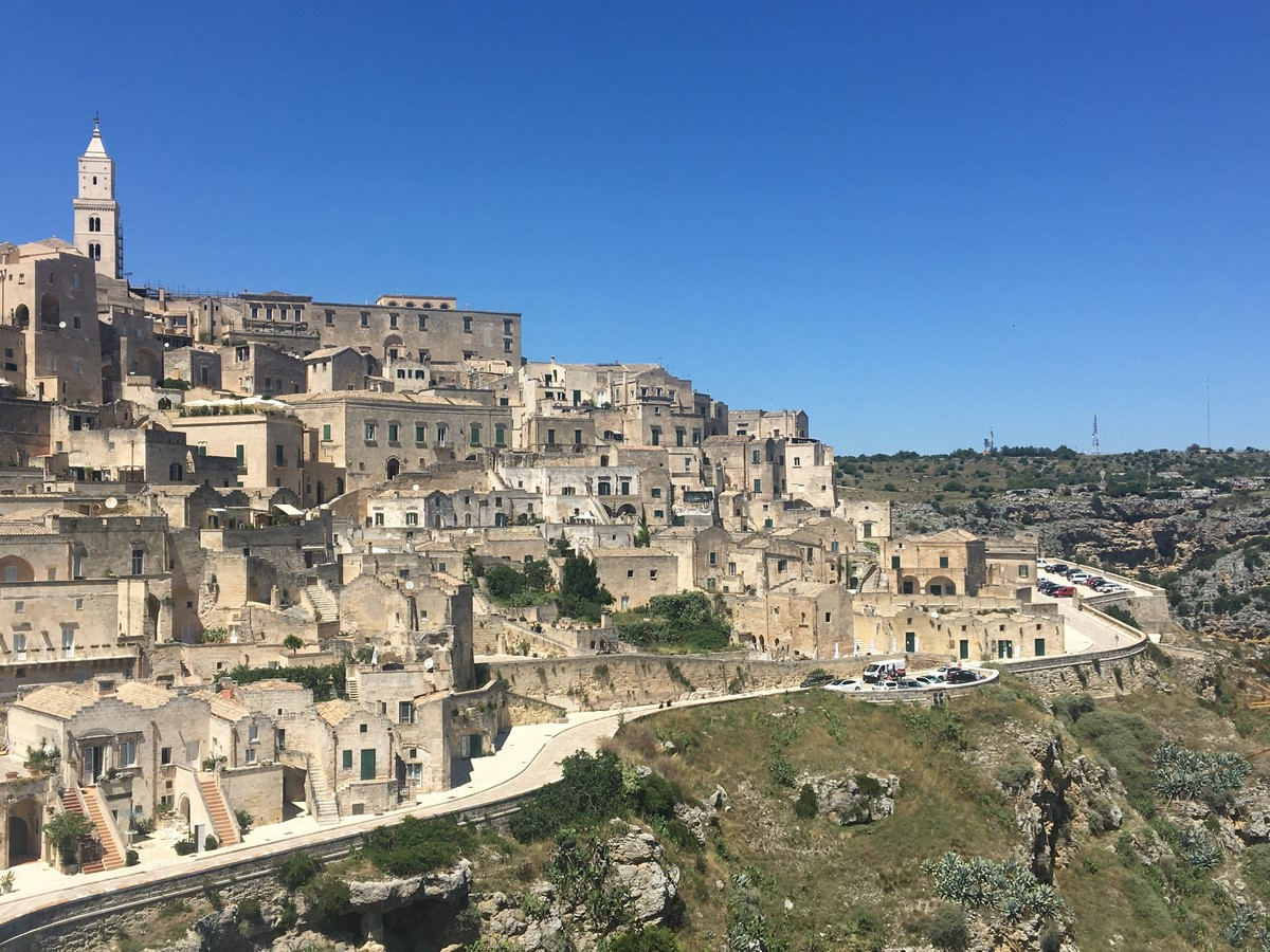 Architecture of Matera settlement in Italy - Sheet1