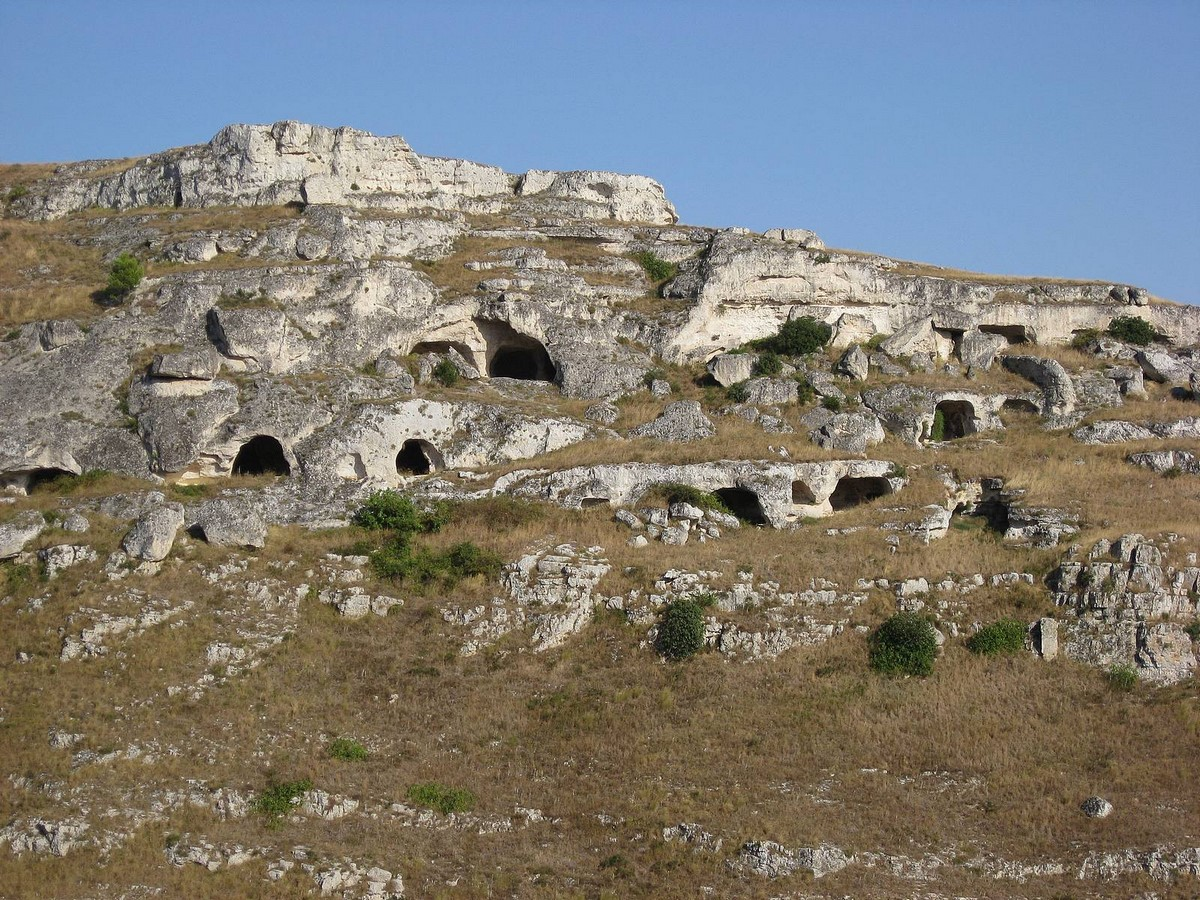 Architecture of Matera settlement in Italy - Sheet2