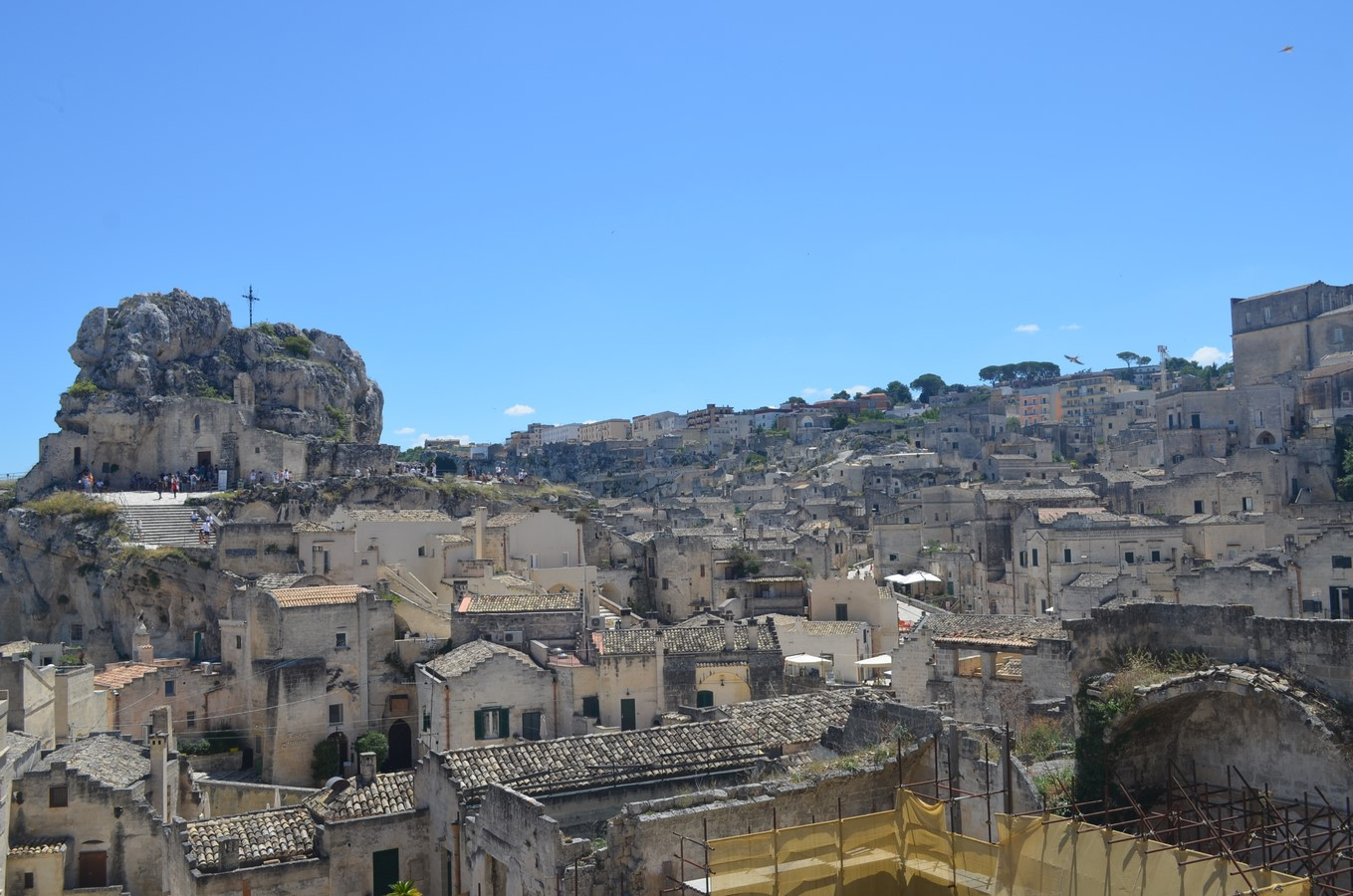 Architecture of Matera settlement in Italy - Sheet3