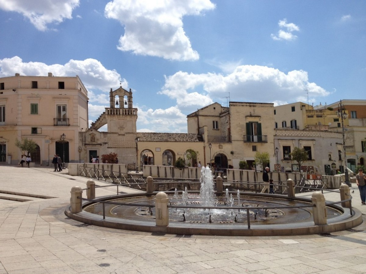 Architecture of Matera settlement in Italy - Sheet5