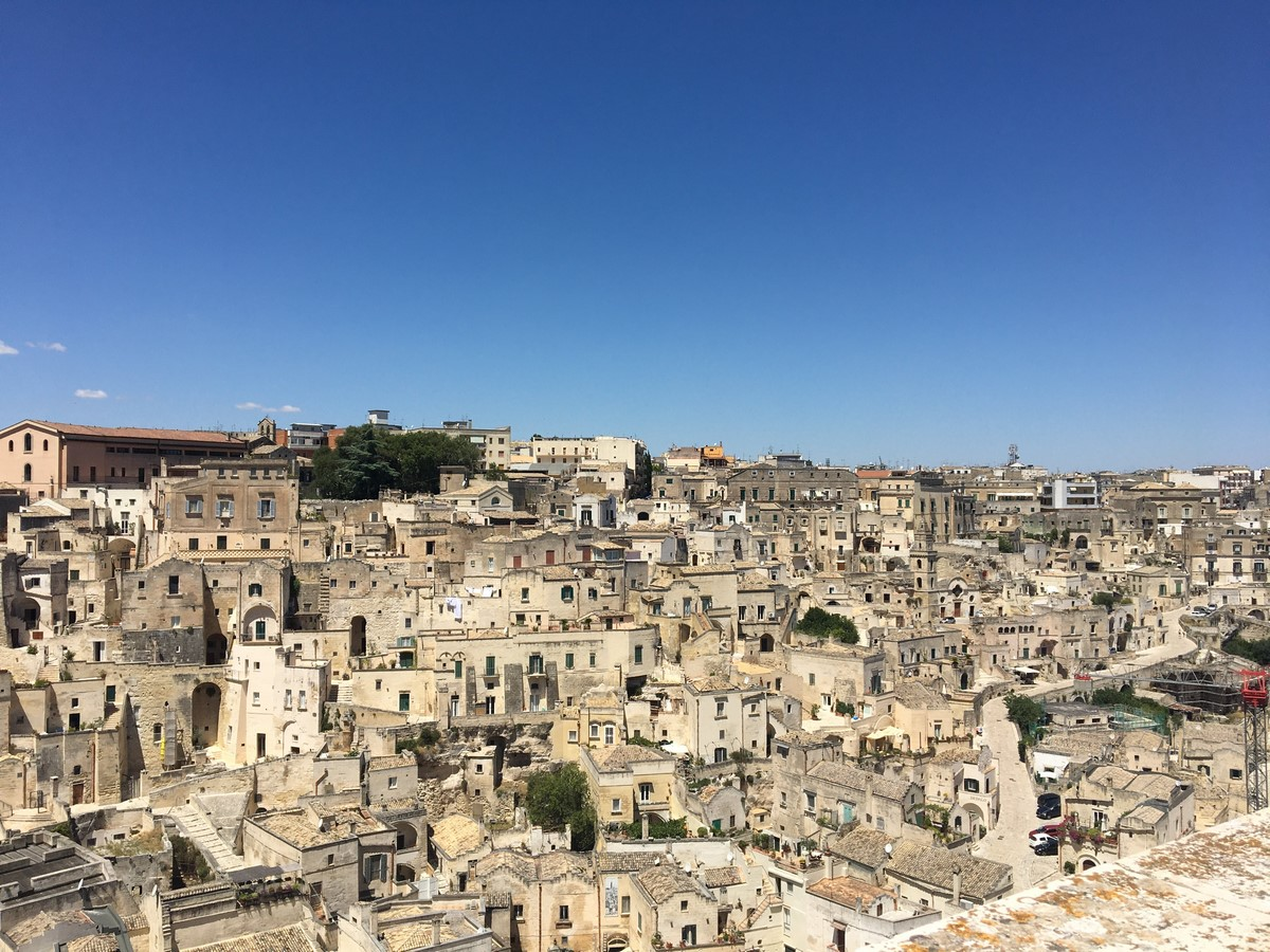 Architecture of Matera settlement in Italy - Sheet6