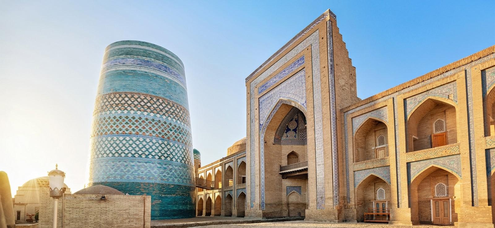 Walled city of Khiva/Ichan Kala - Sheet1