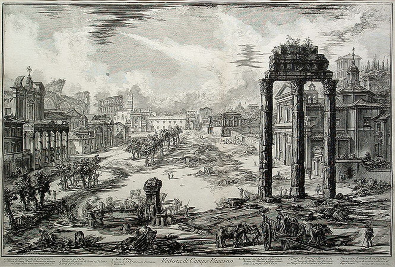 The Roman Forum, Rome: Heritage stuck in time - Sheet10