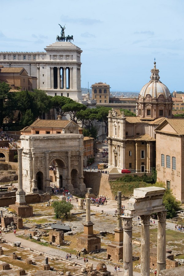 The Roman Forum, Rome: Heritage stuck in time - Sheet1