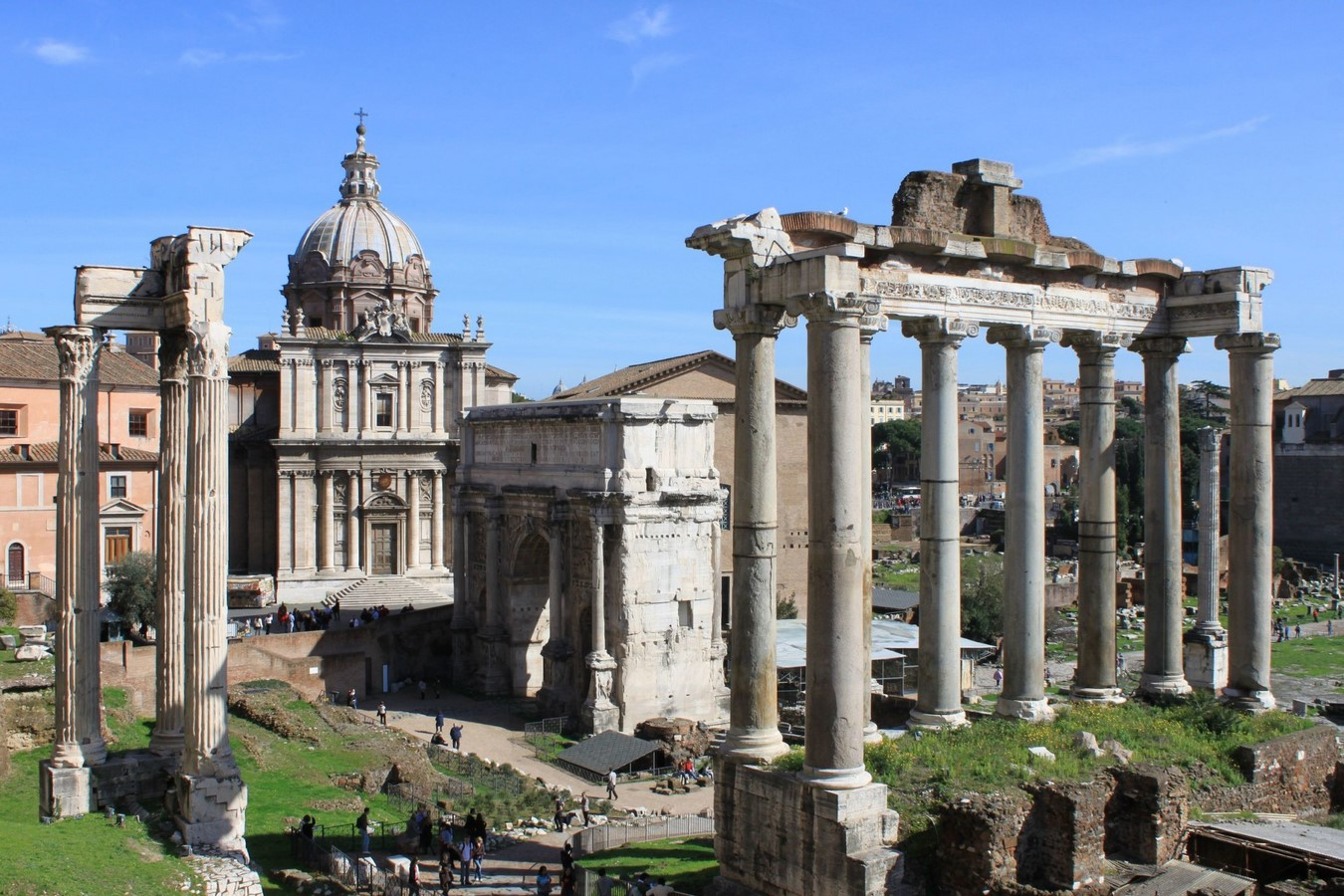 The Roman Forum, Rome: Heritage stuck in time - Sheet2
