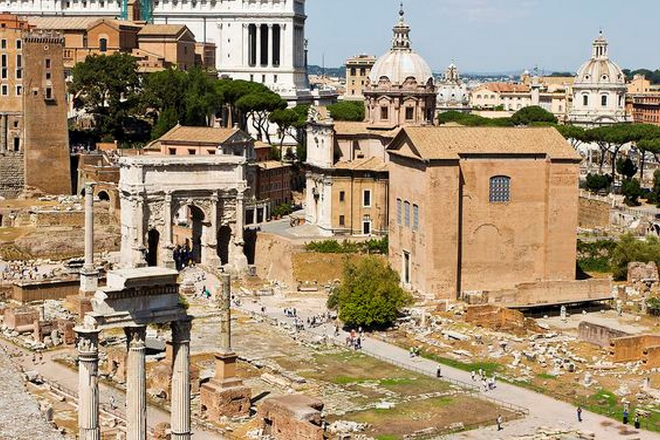 The Roman Forum, Rome: Heritage stuck in time - Sheet3
