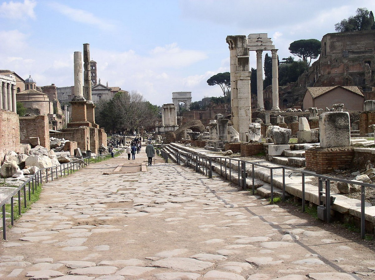 The Roman Forum, Rome: Heritage stuck in time - Sheet9