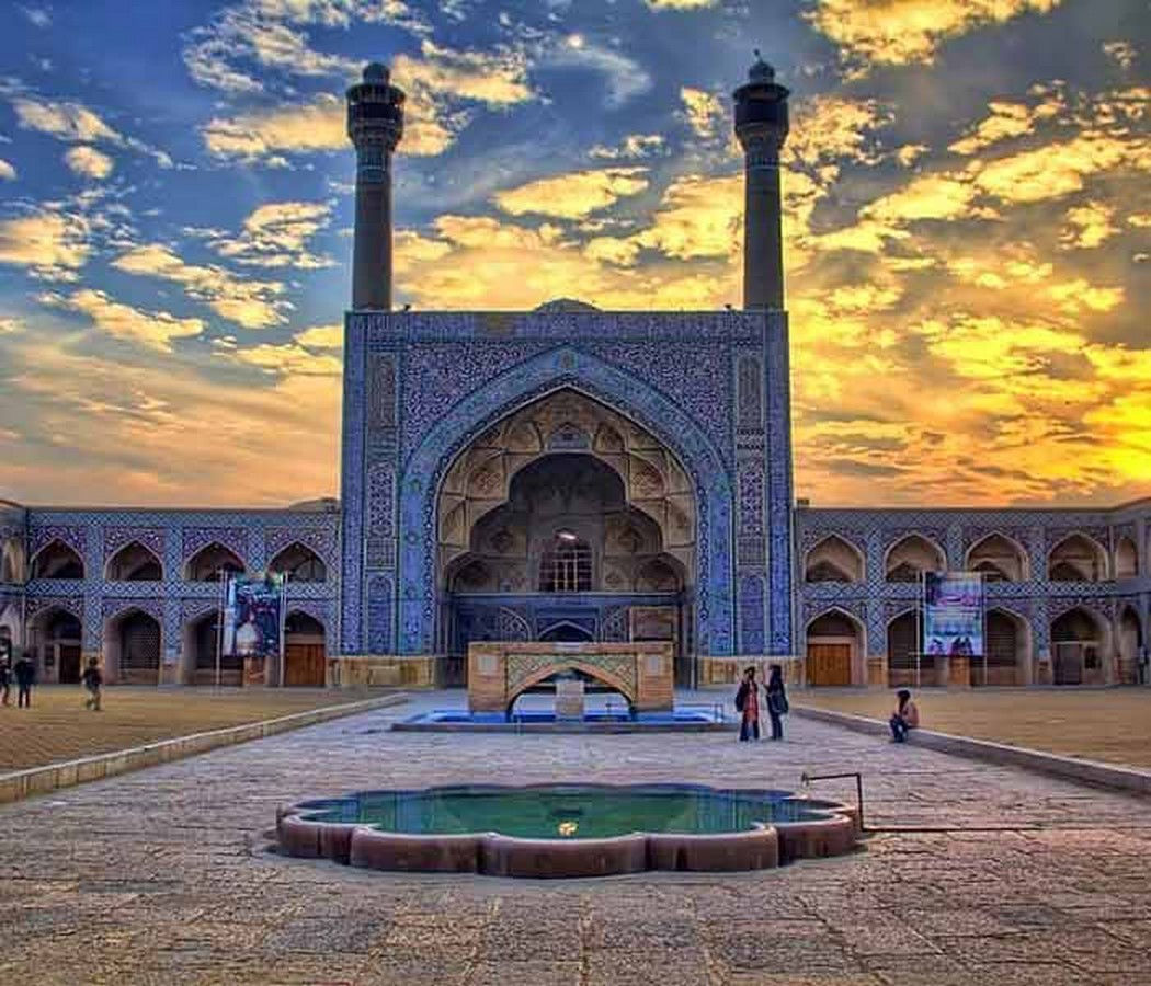 Masjed-e Jame, Iran: The oldest Friday mosque in Iran - Sheet7