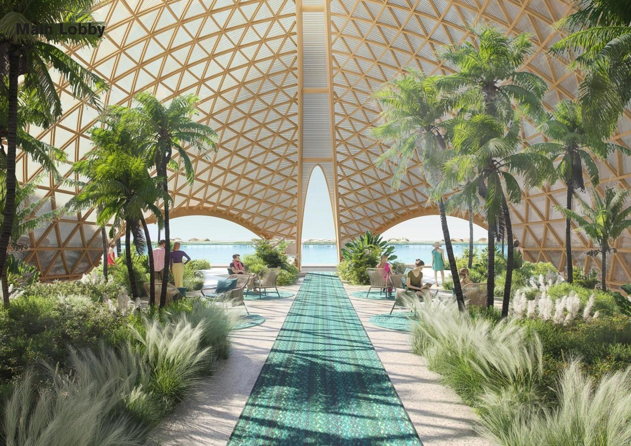 Hotel 12, part of the Red Sea Project in Saudi Arabia designed by Foster + Partners - Sheet5