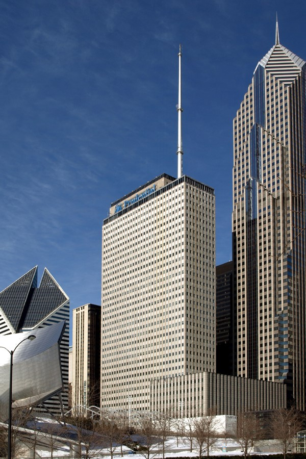 Retrofitting in Architecture -One Prudential Plaza, Chicago - Sheet1