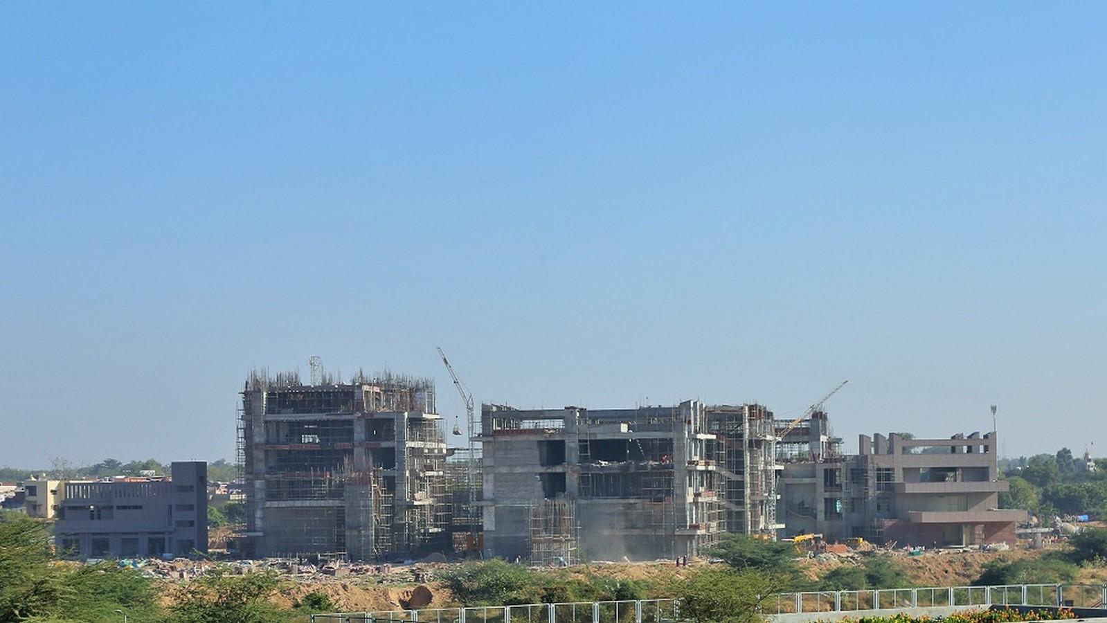 Architectural firms involved in designing the IIT Gandhinagar campus - Sheet13