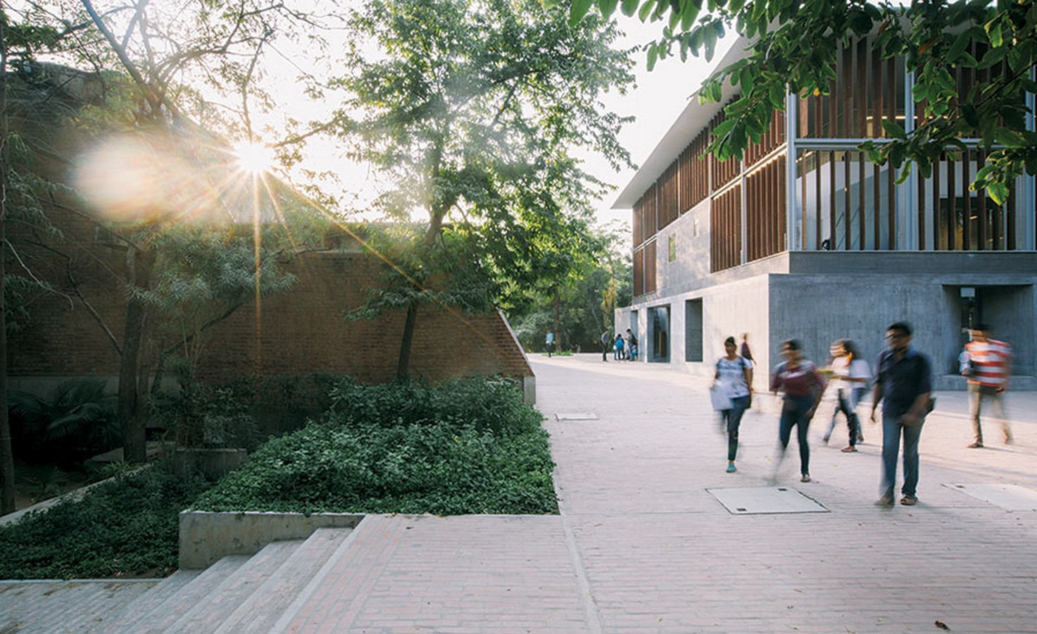 The CEPT University Library, Ahmedabad by Rahul Mehrotra: Spaces within the spaces - Sheet2