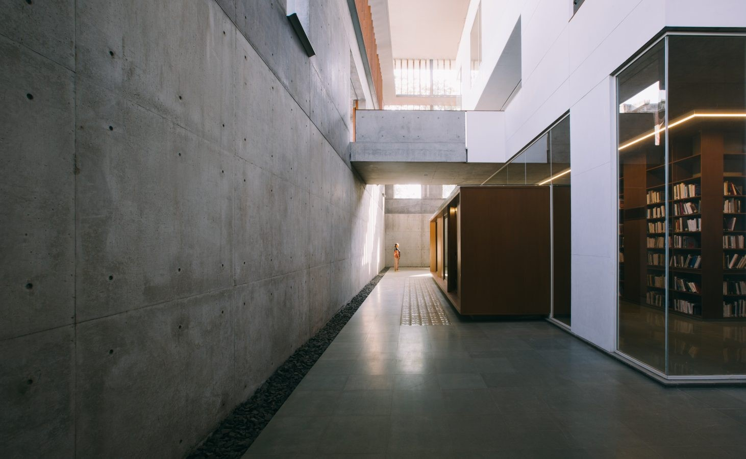 The CEPT University Library, Ahmedabad by Rahul Mehrotra: Spaces within the spaces - Sheet3