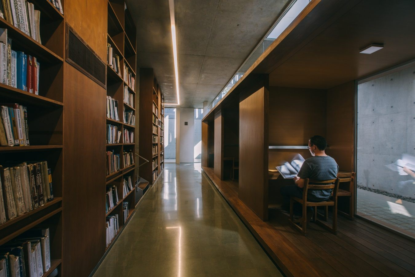 The CEPT University Library, Ahmedabad by Rahul Mehrotra: Spaces within the spaces - Sheet5
