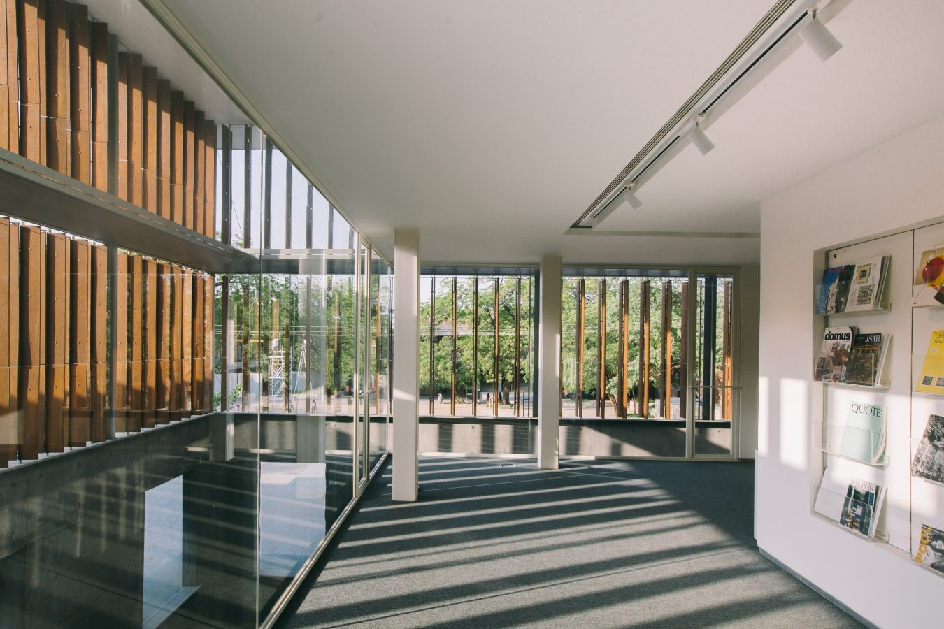 The CEPT University Library, Ahmedabad by Rahul Mehrotra: Spaces within the spaces - Sheet6