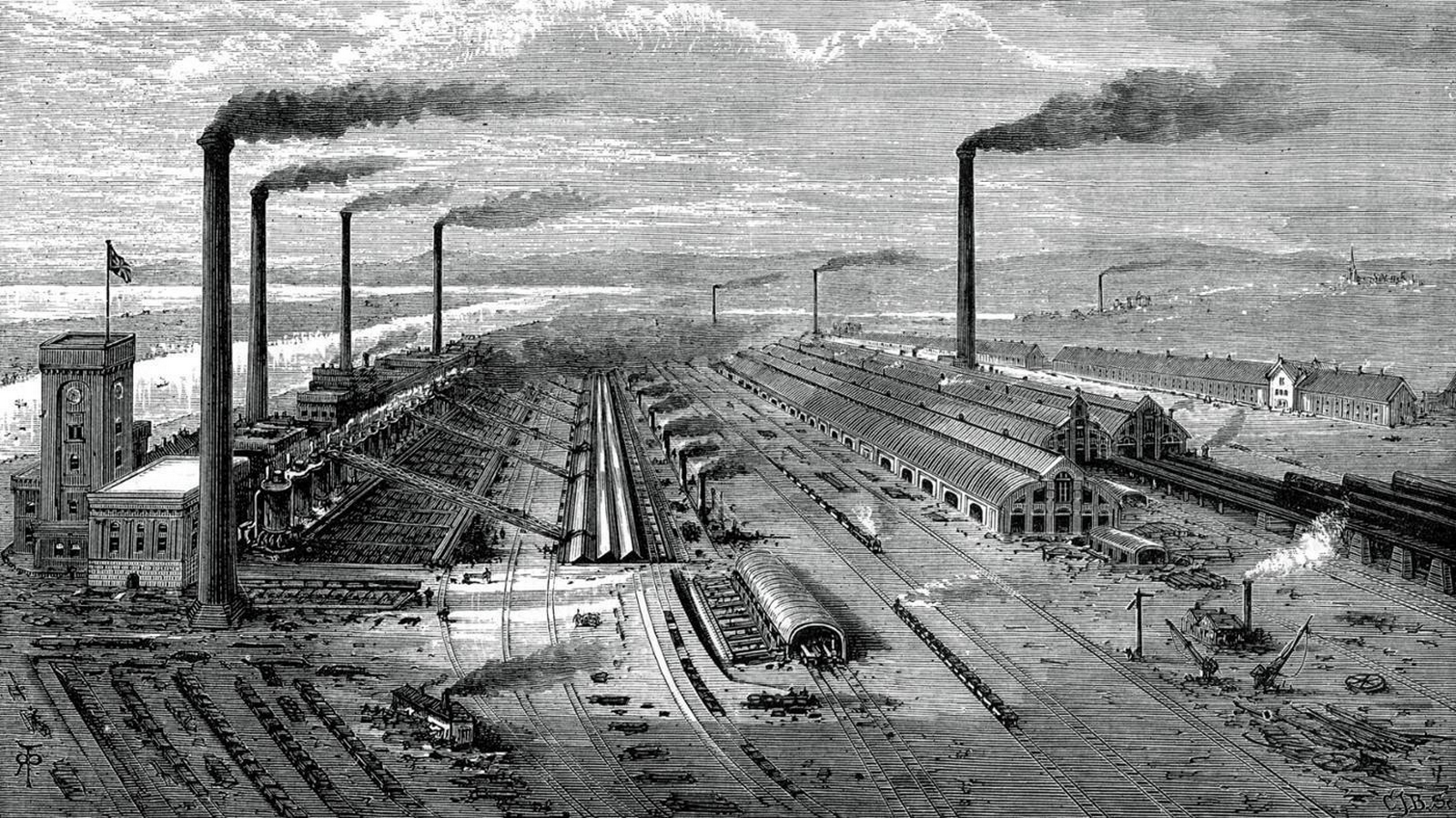What is the impact of Industrial Revolution on architecture? - Sheet1