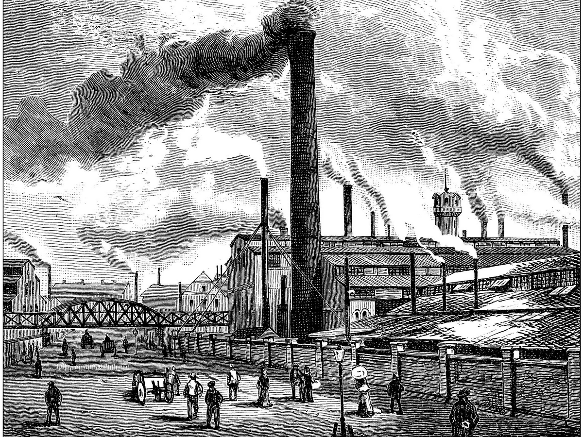 What is the impact of Industrial Revolution on architecture? - Sheet3