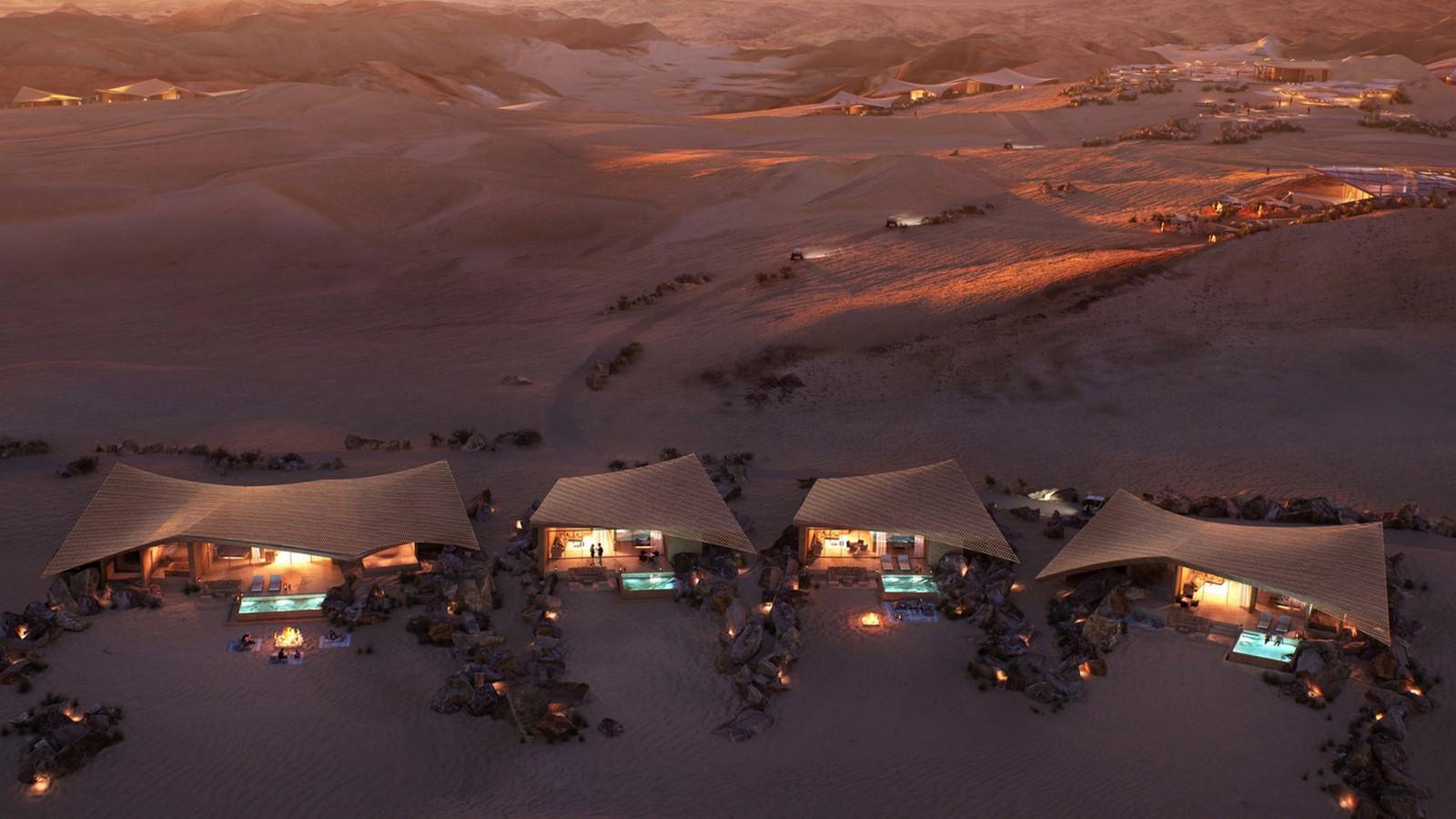 Saudi Arabian Hotel in Sand Dunes designed by Foster + Partners - Sheet2