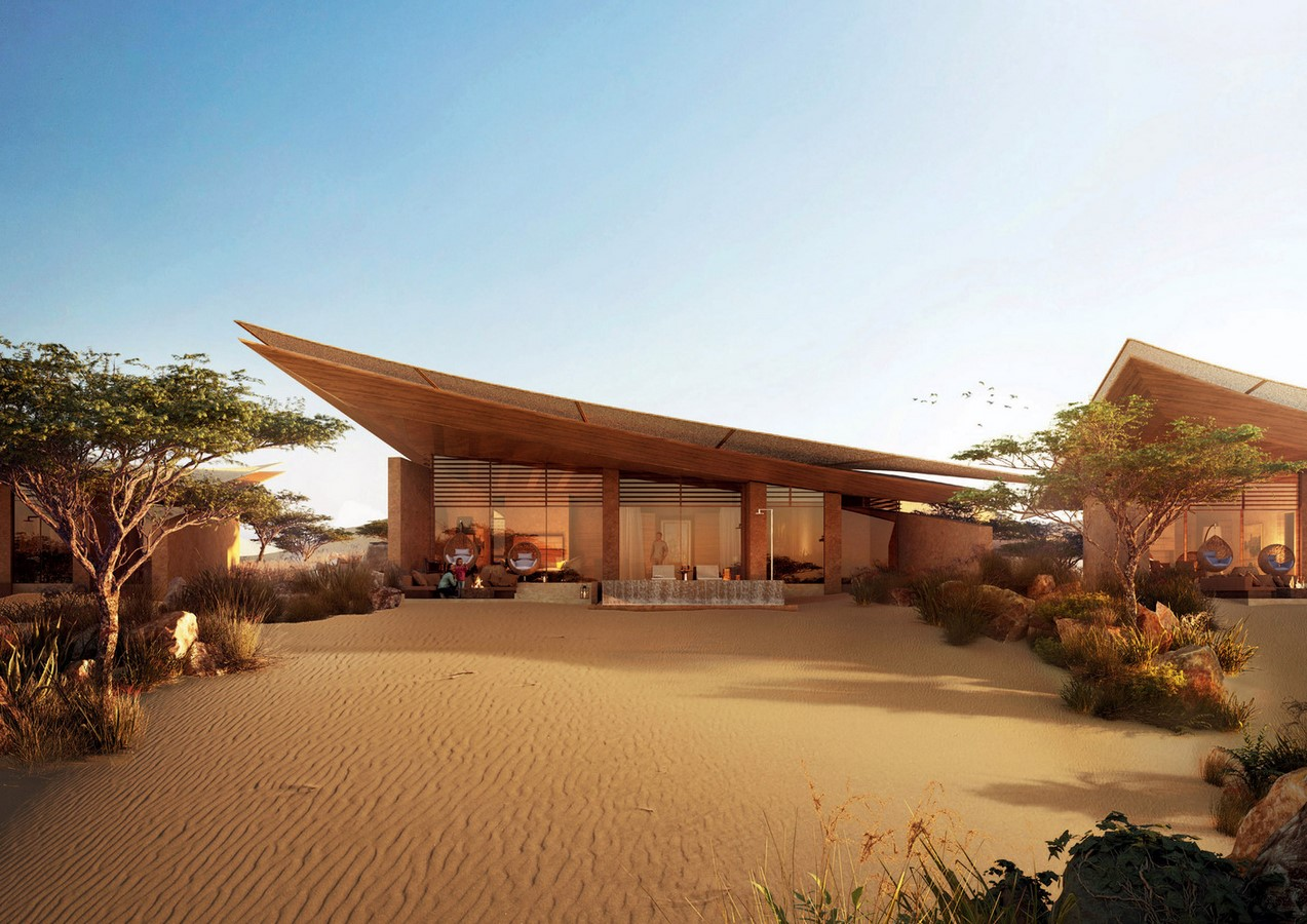 Saudi Arabian Hotel in Sand Dunes designed by Foster + Partners - Sheet4