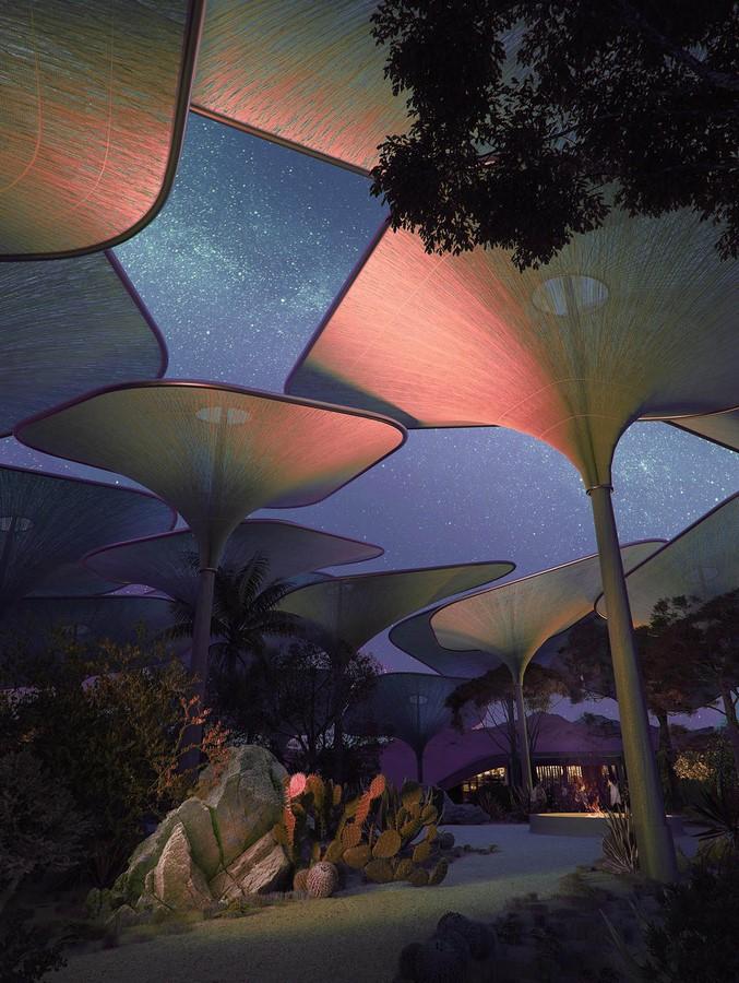 Saudi Arabian Hotel in Sand Dunes designed by Foster + Partners - Sheet8