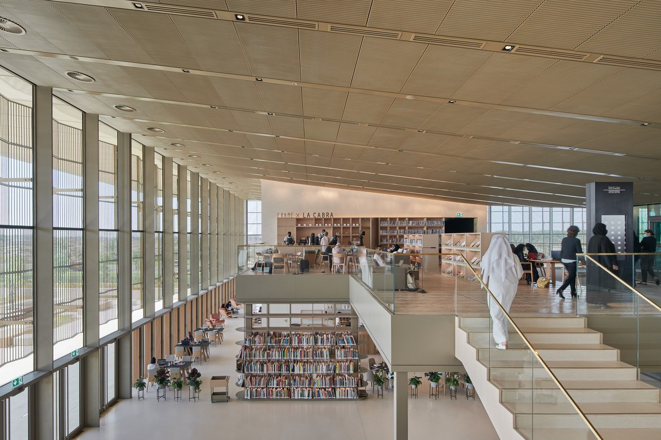 New Library And Culture Centre With Large Floating Roof In Sharjah completed by Foster + Partners - Sheet5