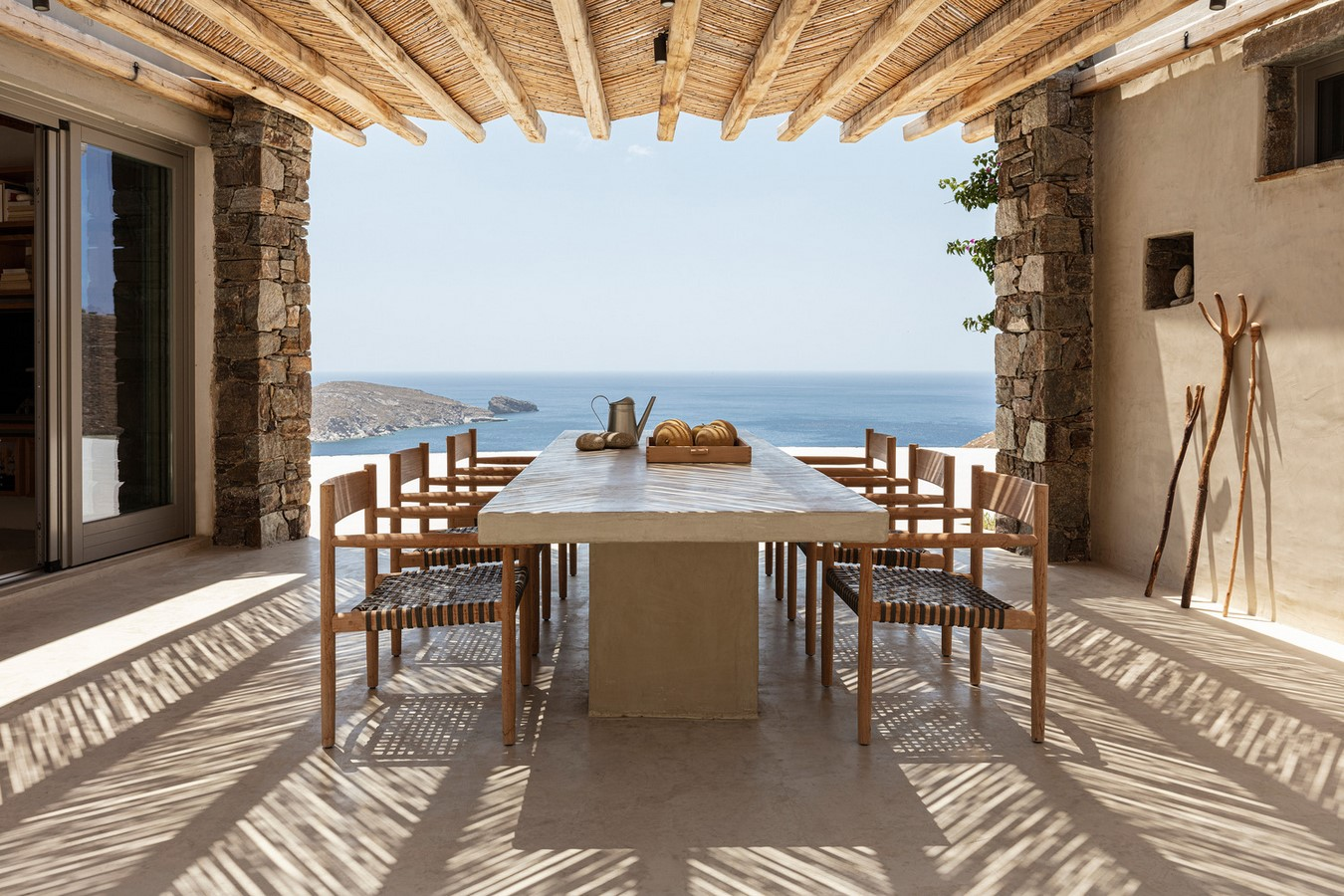 Xerolithi House in Greece is Entirely Invisible With Sinuous Lines designed by Sinas Architects - Sheet9