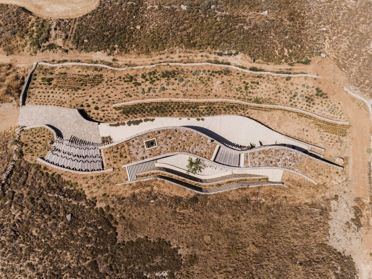 Xerolithi House in Greece is Entirely Invisible With Sinuous Lines designed by Sinas Architects - Sheet4