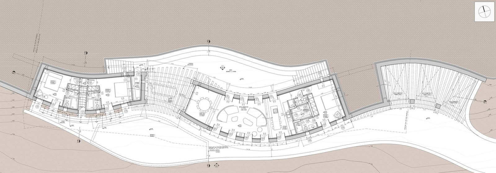 Xerolithi House in Greece is Entirely Invisible With Sinuous Lines designed by Sinas Architects - Sheet5