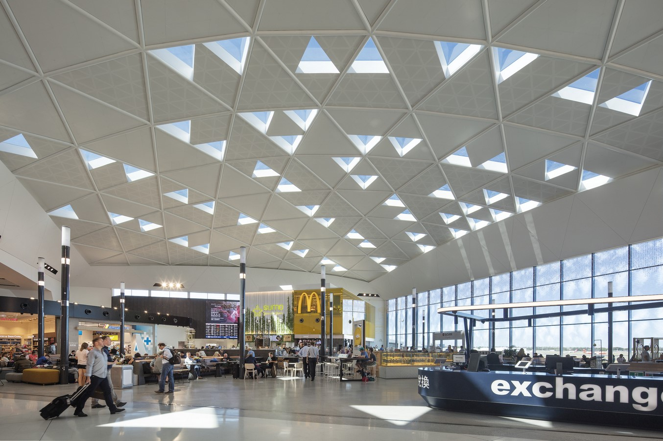 Sydney International Airport Marketplace by Cox Architecture - Sheet1