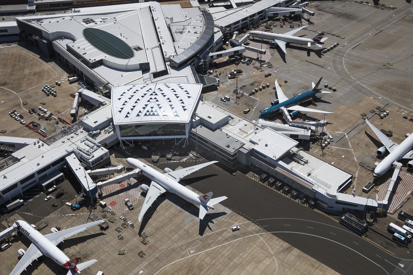Sydney International Airport Marketplace by Cox Architecture - Sheet3