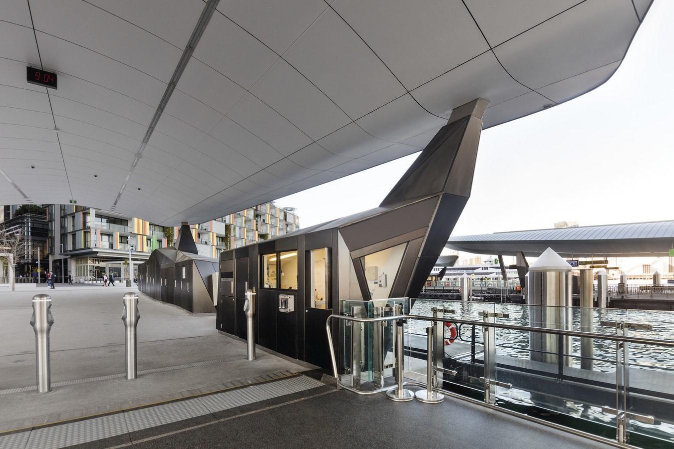 Barangaroo Ferry Wharf by Cox Architecture - Sheet3