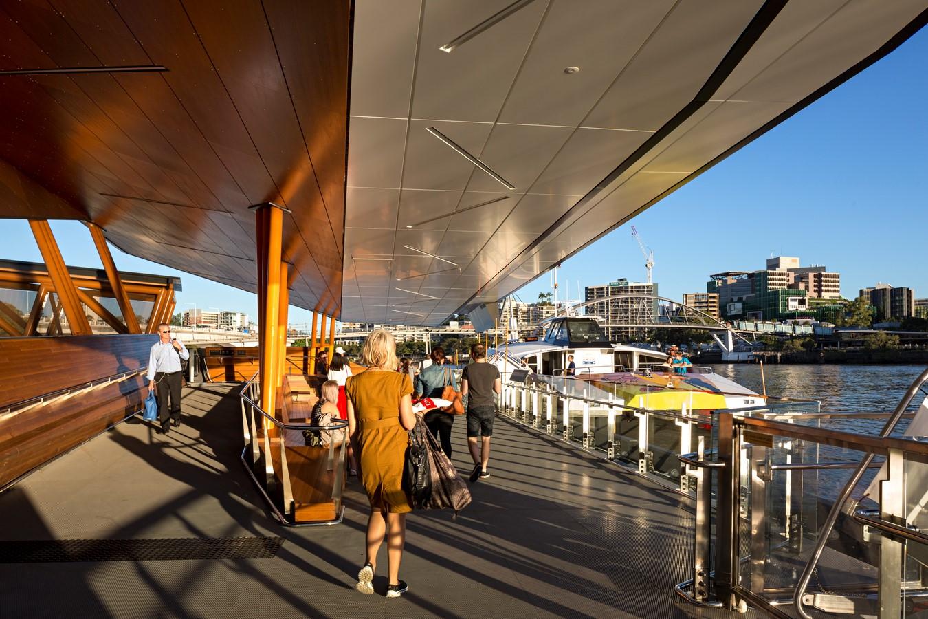 Brisbane Ferry Terminals by Cox Architecture - Sheet1