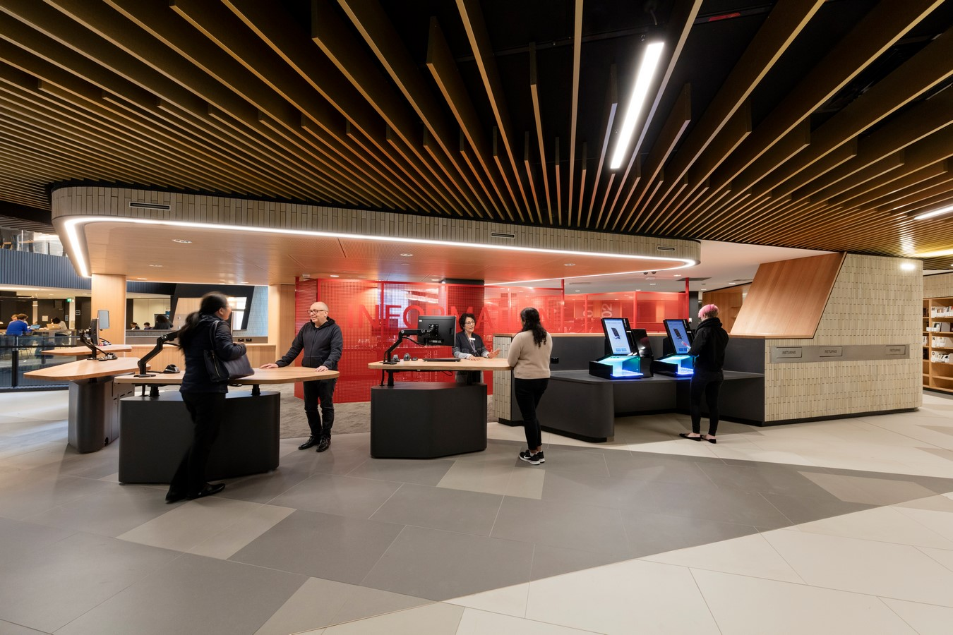 Sir Louis Matheson Library by Cox Architecture - Sheet3