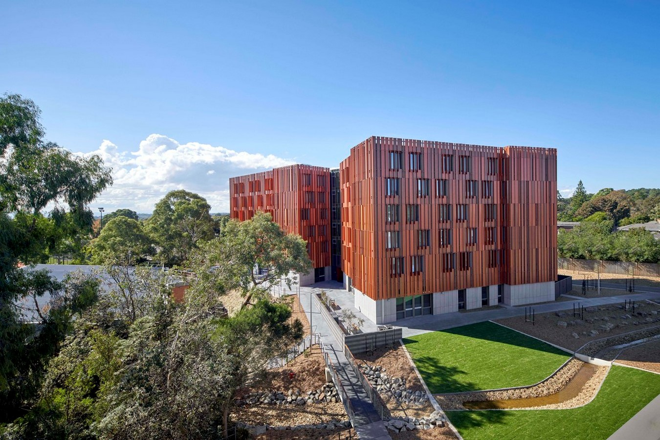 Gillies Hall by Jackson Clements Burrows Architects - Sheet1