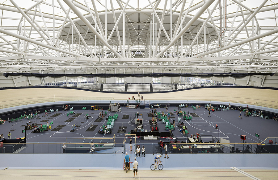 Anna Meares Velodrome by Cox Architecture