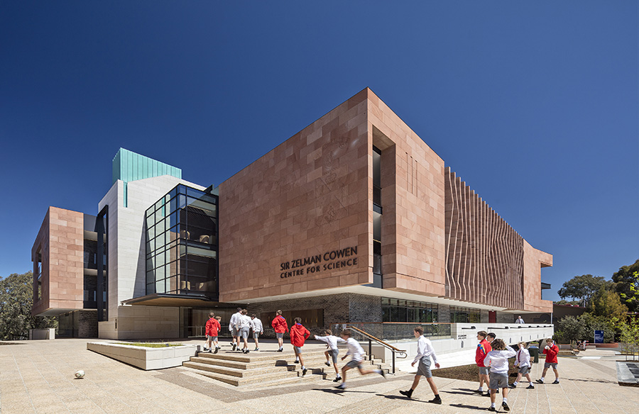 Sir Zelman Cowen Centre for Science by Cox Architecture