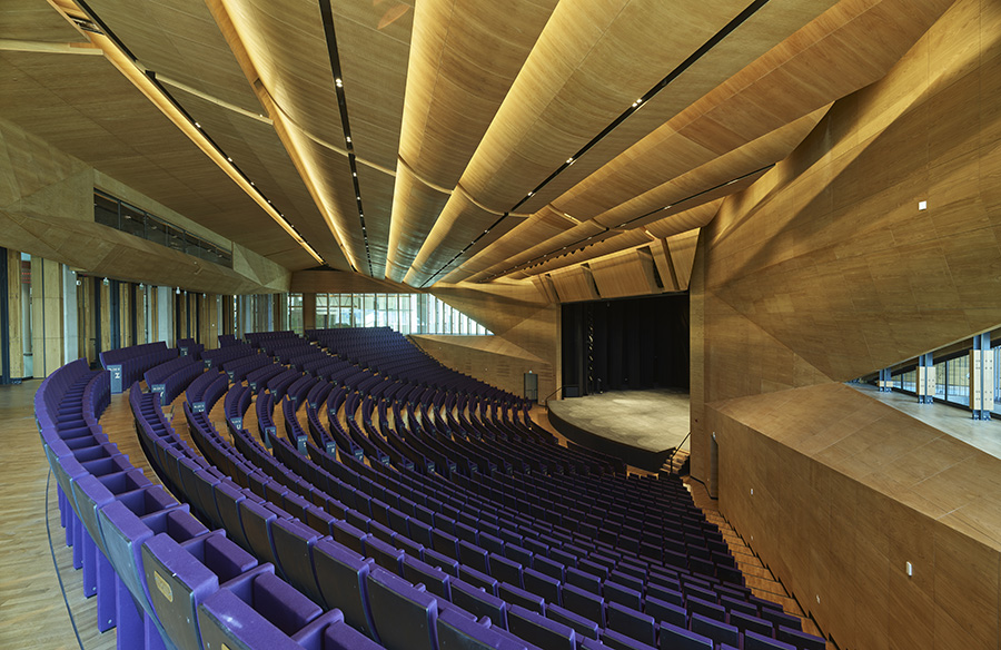 TED Ankara College Performing Arts Center by Uygur Architects