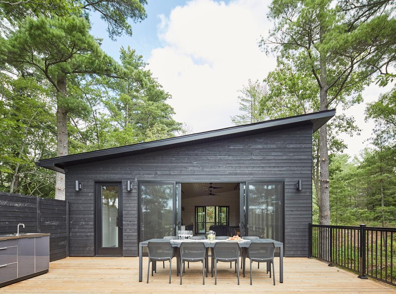 Kahshe Lake Cottage by Solares Architecture - Sheet2