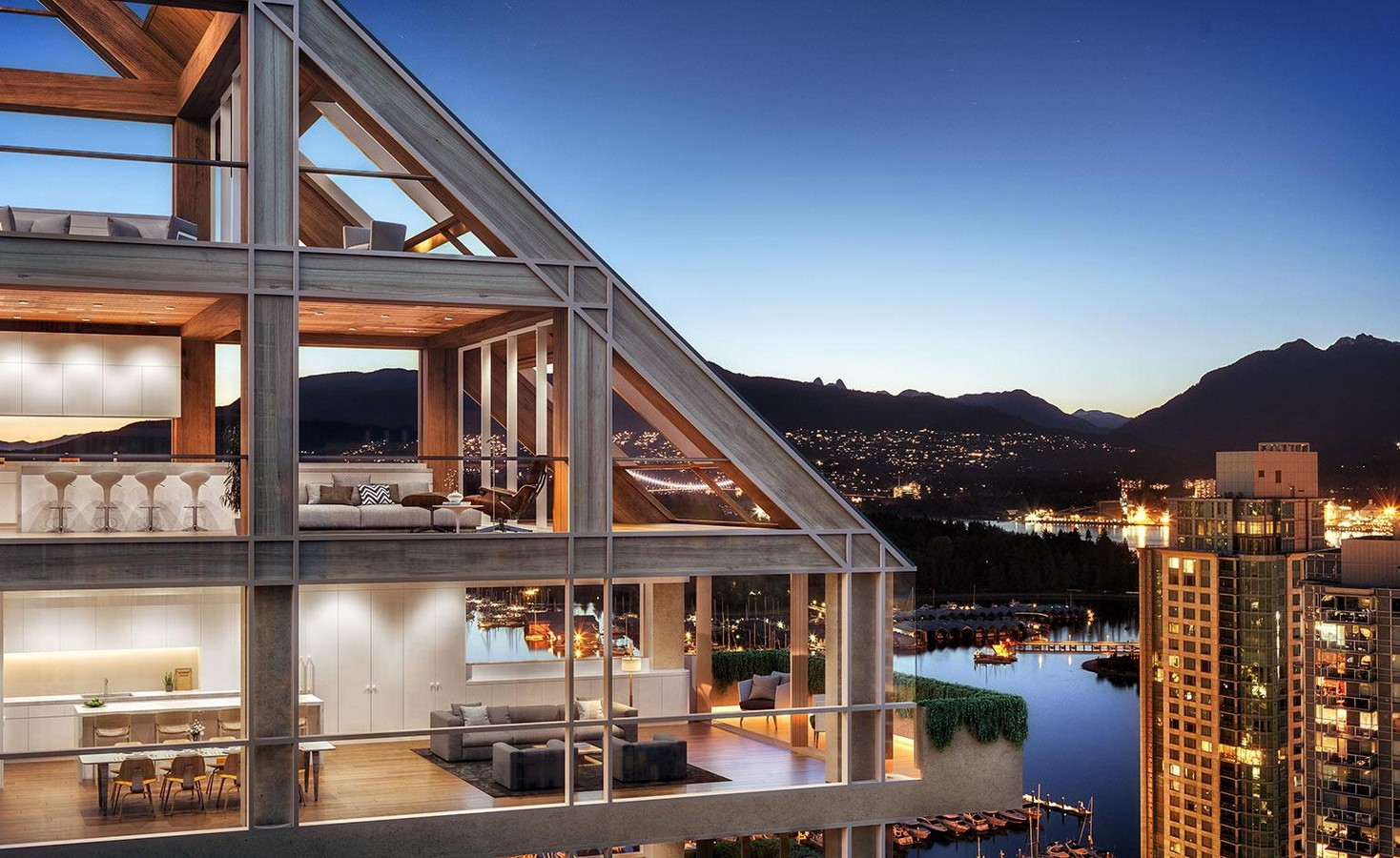 Terrace House by Shigeru Ban: The Tallest Hybrid Wood Tower - Sheet2