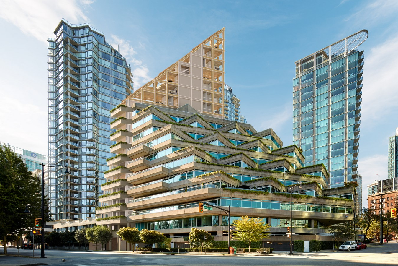 Terrace House by Shigeru Ban: The Tallest Hybrid Wood Tower - Sheet3