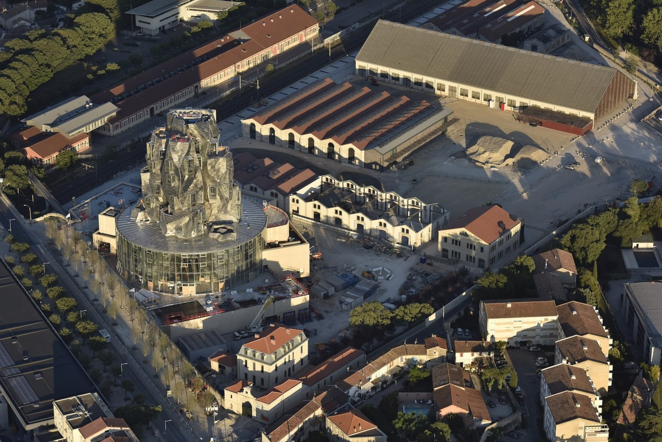 Frank Gehry's twisted Luma Arles tower set to Open in France on 26 June 2021 - Sheet2