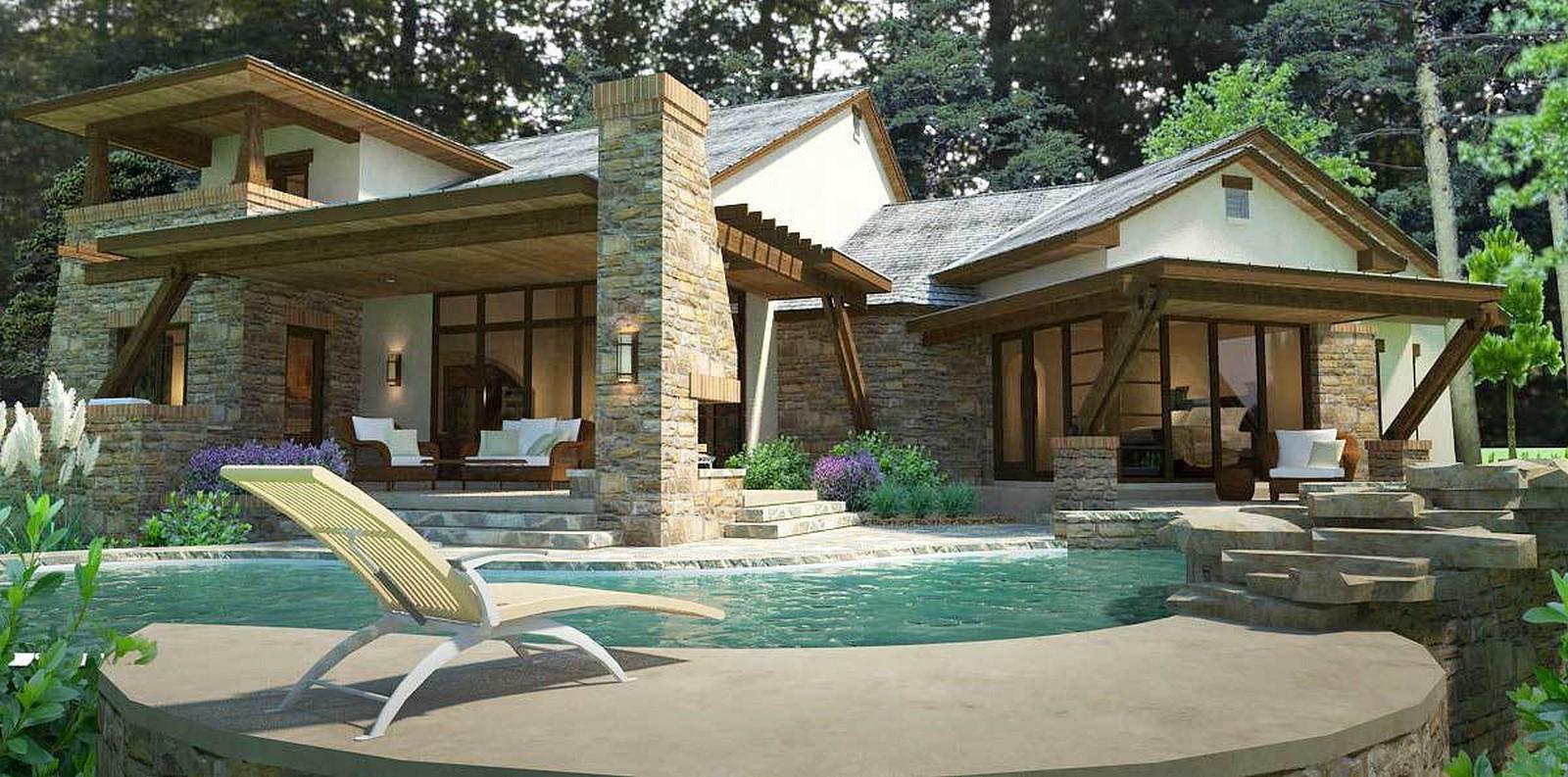 30 Examples of Tuscan residences - Sheet7