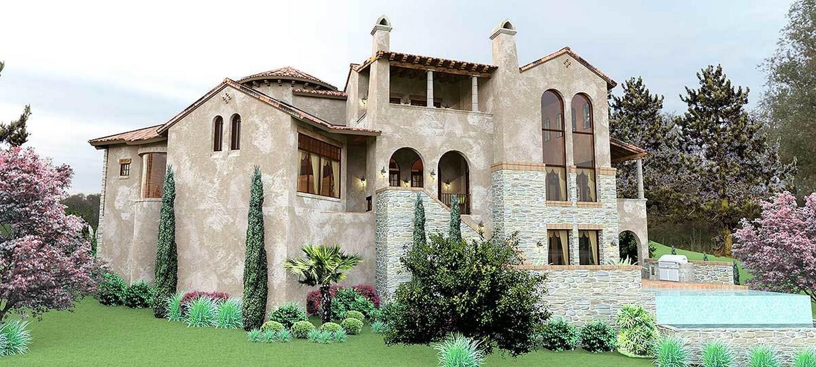 30 Examples of Tuscan residences - Sheet9