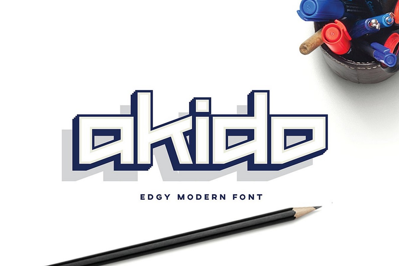 Fonts for Architects -Aikido - Sheet1