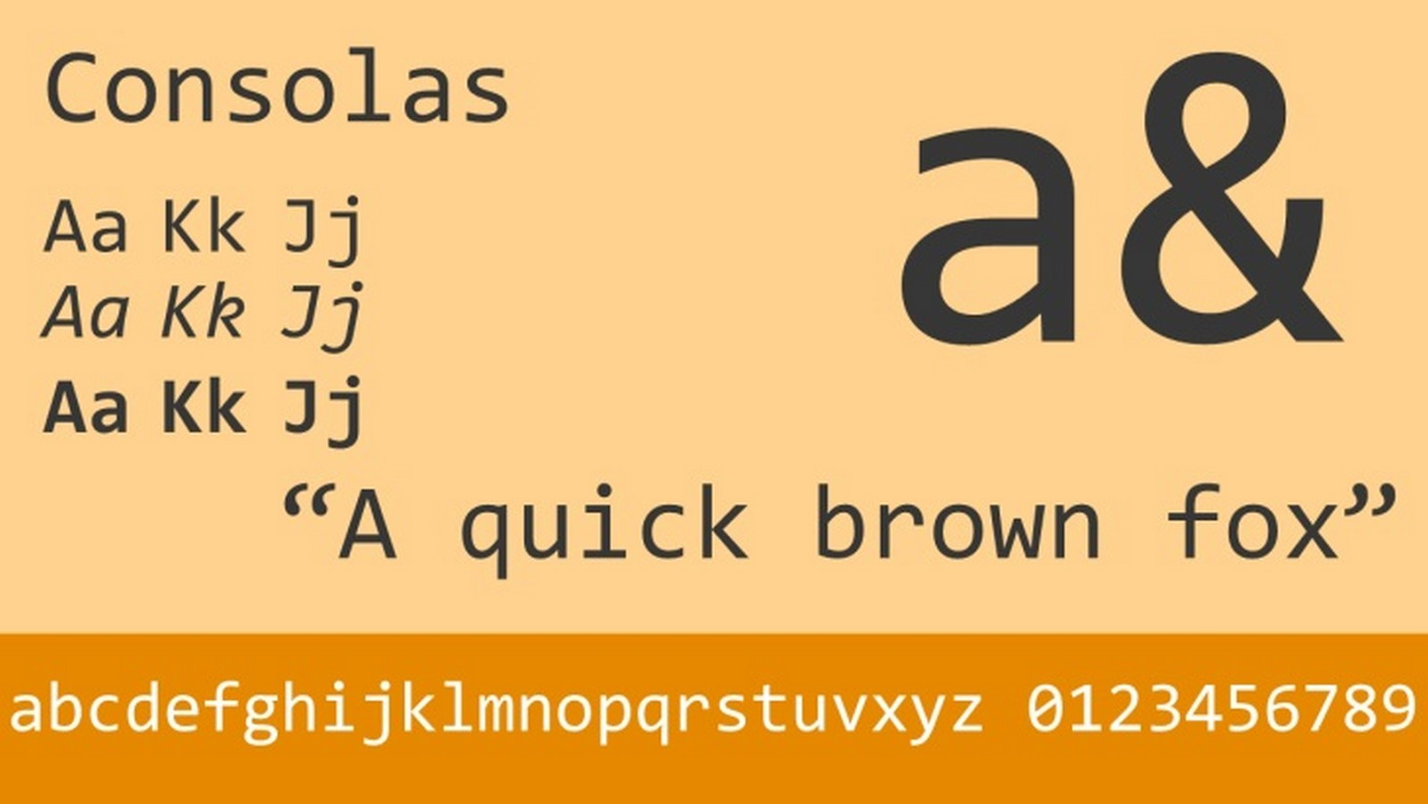Fonts for Architects -Consolas - Sheet1