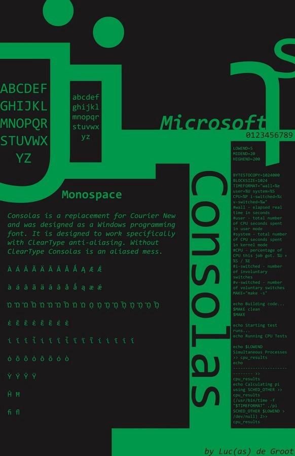 Consolas - Sheet2